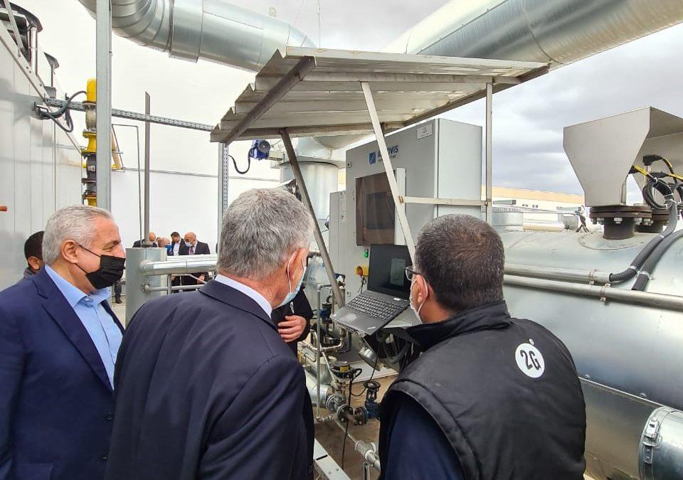 Visite de l'Ambassadeur à l'entreprise SOBOCO, bénéficiaire de SUNREF Tunisie